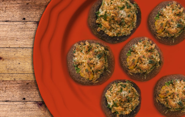 Papi's Spicy Sausage Stuffed Mushrooms